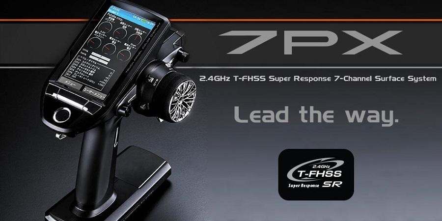 Futaba 7PX LCD Touch Screen 7-Ch 2.4GHz T-FHSS Radio (1)