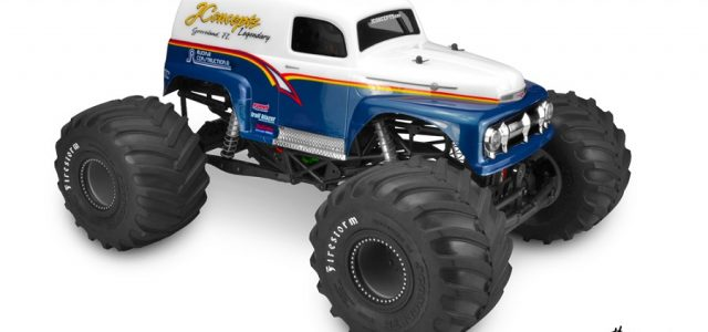 JConcepts 1951 Ford Panel Truck Monster Truck Body