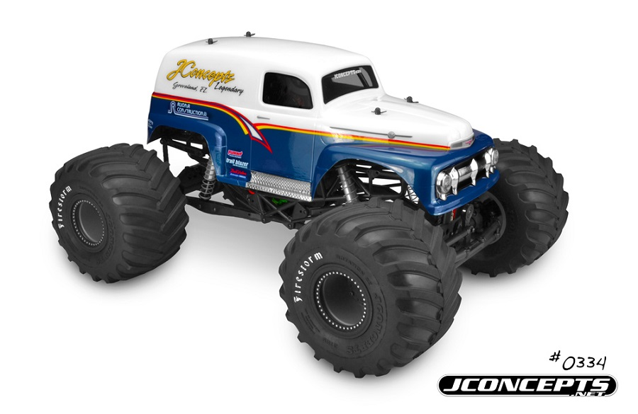 JConcepts 1951 Ford Panel Truck Monster Truck Body (1)