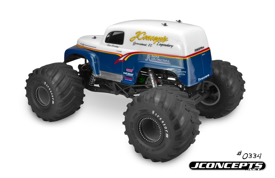 JConcepts 1951 Ford Panel Truck Monster Truck Body (2)