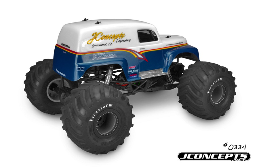 JConcepts 1951 Ford Panel Truck Monster Truck Body (3)