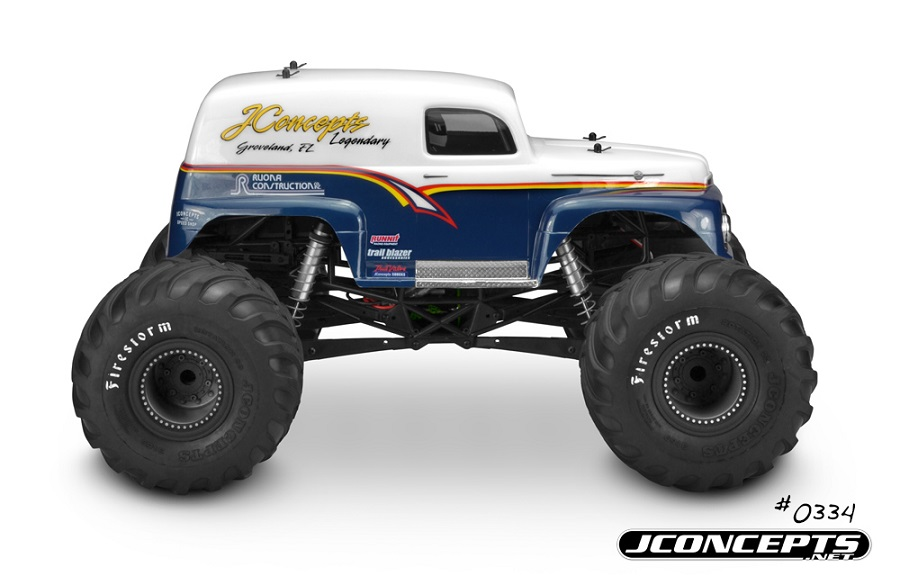JConcepts 1951 Ford Panel Truck Monster Truck Body (4)