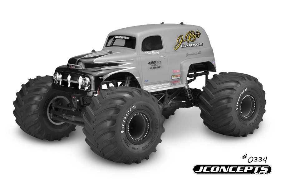 JConcepts 1951 Ford Panel Truck Monster Truck Body (5)