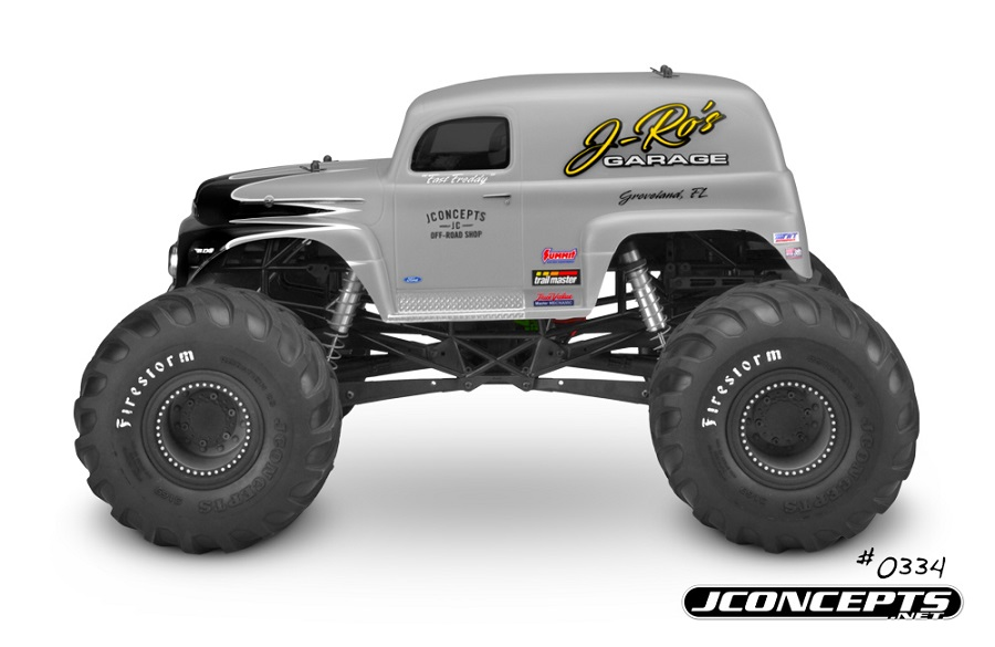 JConcepts 1951 Ford Panel Truck Monster Truck Body (6)