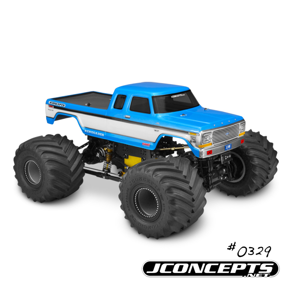 JConcepts 1979 Ford F-250 SuperCab Monster Truck Body (1)