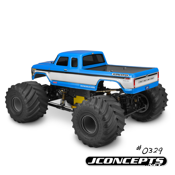 JConcepts 1979 Ford F-250 SuperCab Monster Truck Body (2)