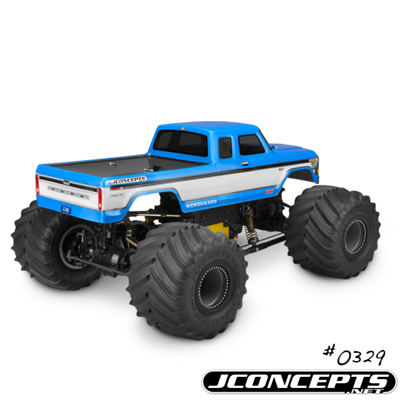 JConcepts 1979 Ford F-250 SuperCab Monster Truck Body (3)