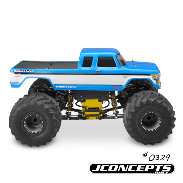 JConcepts 1979 Ford F-250 SuperCab Monster Truck Body (4)