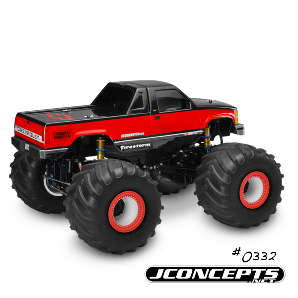 JConcepts 1988 Chevy Silverado Monster Truck Body (4)