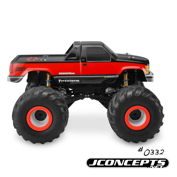 JConcepts 1988 Chevy Silverado Monster Truck Body (5)