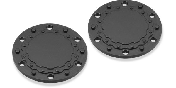 JConcepts Aluminum Planetary Cap For Tribute Wheels