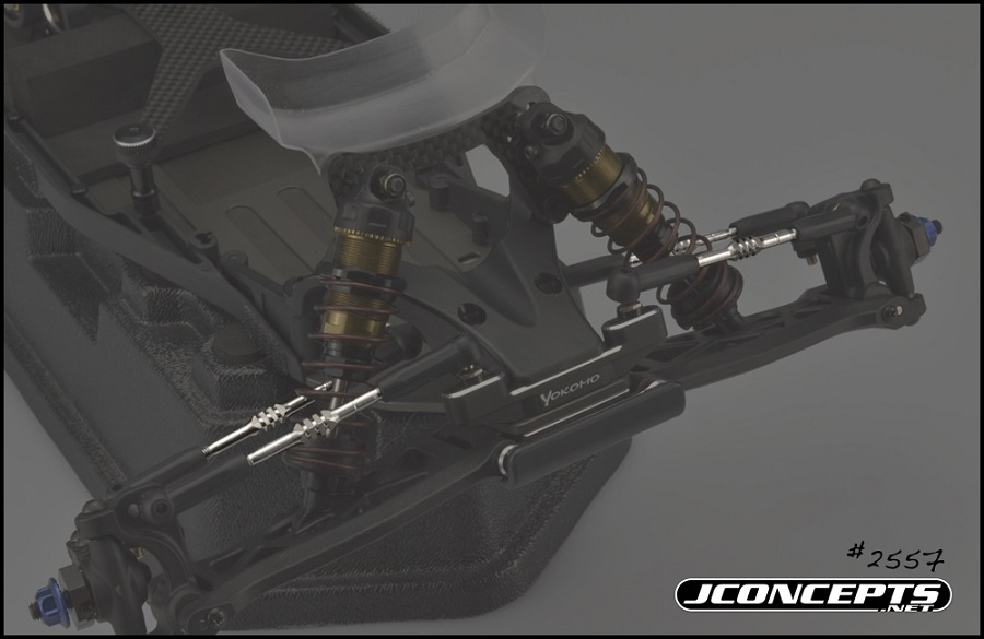 JConcepts Fin Turnbuckle Kit For The Yokomo YZ-2 DTM (2)