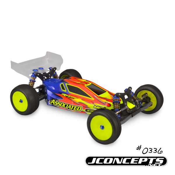 JConcepts Illuzion B6 & B6D Body With Aero Wing (2)