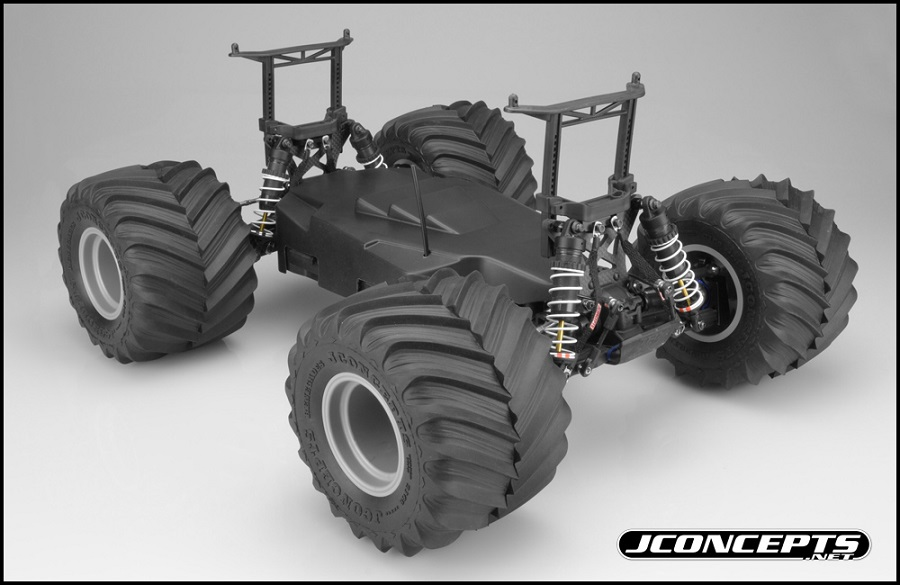 JConcepts Monster Truck Conversion For The Slash (3)