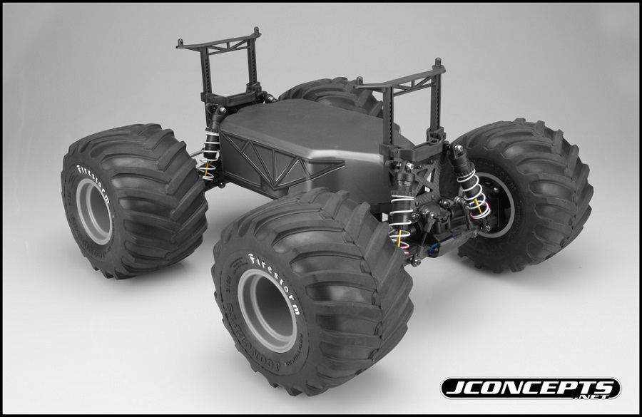 JConcepts Monster Truck Conversion For The Slash (4)