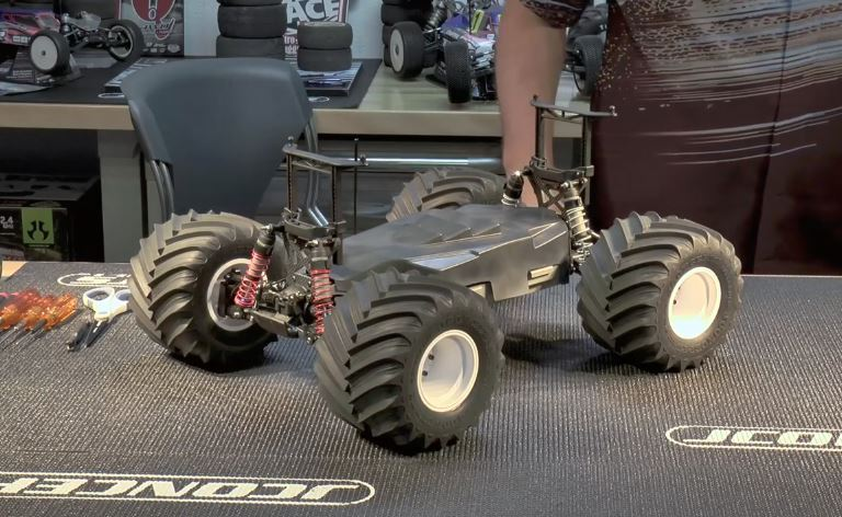 JConcepts Monster Truck Conversion For The Slash