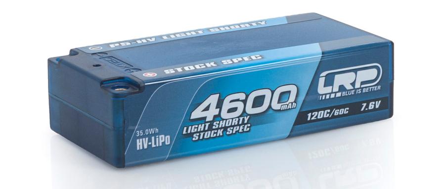 LRP P5-HV Graphene Hardcase Akku 120C_60C 7.6v LiPos (4)