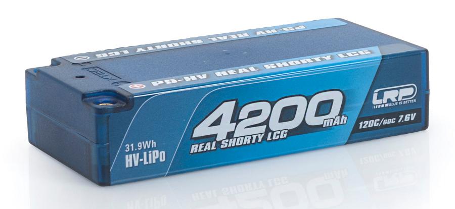 LRP P5-HV Graphene Hardcase Akku 120C_60C 7.6v LiPos (6)