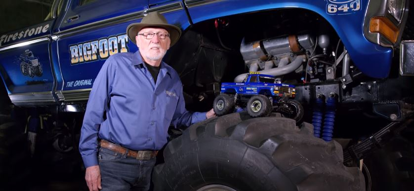 Monster Truck Pioneers Traxxas And Bigfoot