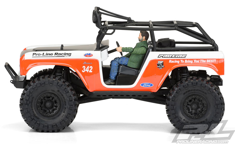 Pro-Line 1966 Ford Bronco Body For The SCX10 Deadbolt - RC Car Action