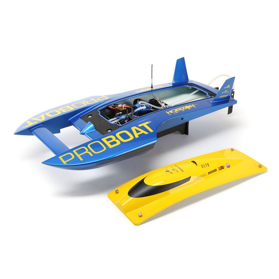 Rc Car Action >> Pro Boat RTR UL-19 30-inch Hydroplane Brushless [VIDEO ...
