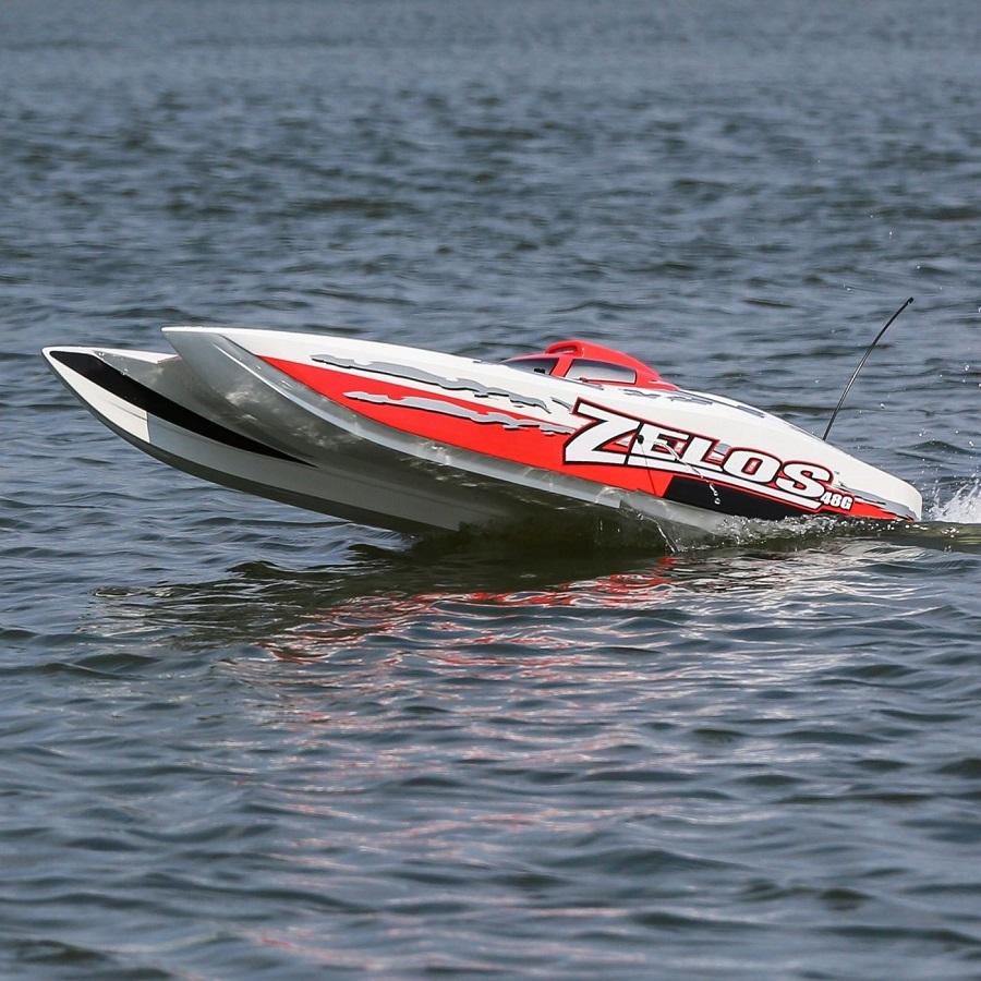 Pro Boat RTR Zelos G 48 Gas Catamaran (1)
