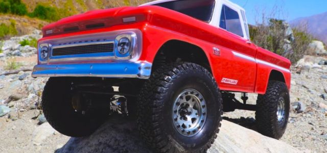 Pro-Line 1966 Chevrolet C-10 Clear Body [VIDEO]