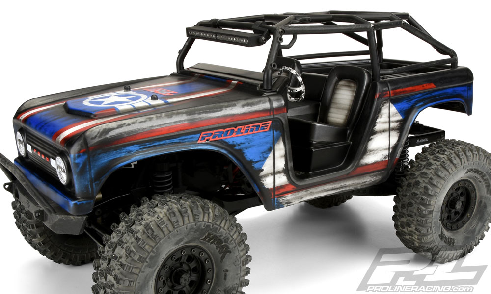 Pro-Line 1966 Ford Bronco Body For The SCX10 Deadbolt (1)