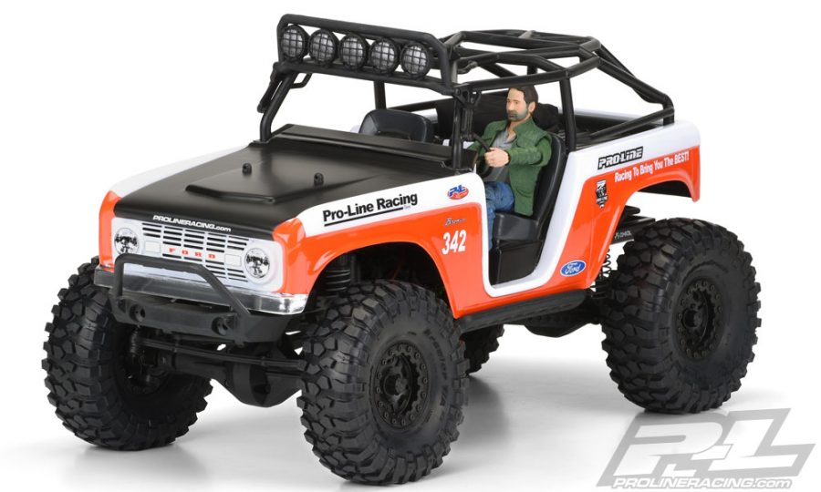 Pro-Line 1966 Ford Bronco Body For The SCX10 Deadbolt (11)