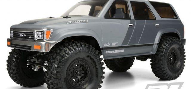 Pro-Line 1991 Toyota 4Runner Clear Body [VIDEO]
