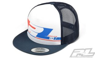 Pro-Line 82 White Trucker Snap Back Hat