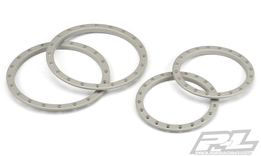 Pro-Line Impulse Pro-Loc Stone Gray Replacement Rings (1)