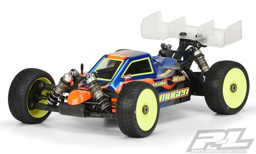 Pro-Line Predator Clear Body For The Mugen MBX7R ECO (1)