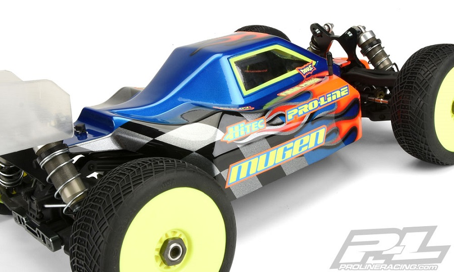 Pro-Line Predator Clear Body For The Mugen MBX7R ECO (4)