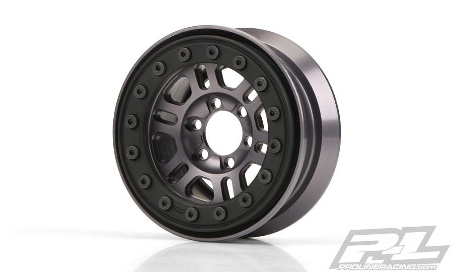 Pro-Line Pro-Forge FaultLine 1.9 Alum Bead-Loc Wheels (3)