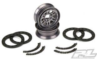 Pro-Line Pro-Forge FaultLine 1.9″ Alum Bead-Loc Wheels