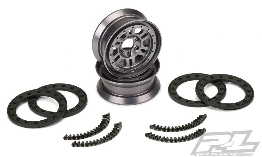 Pro-Line Pro-Forge FaultLine 1.9 Alum Bead-Loc Wheels (5)