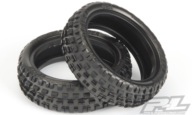 Pro-Line Wedge Squared 2.2 2WD Carpet Buggy Front Tires (1)