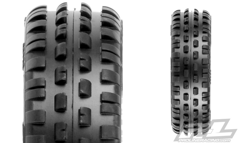 Pro-Line Wedge Squared 2.2 2WD Carpet Buggy Front Tires (4)