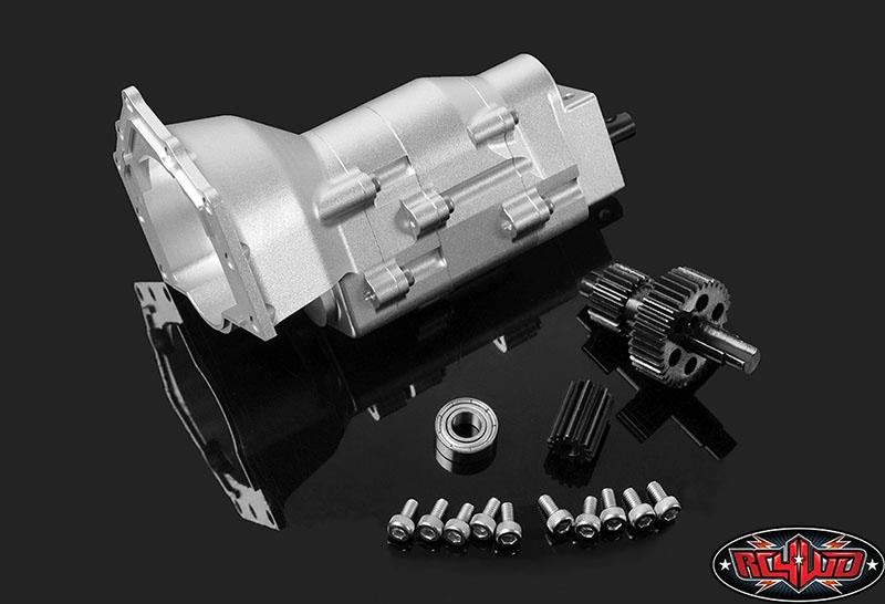 RC4WD TCI Heavy Duty R4 Single Speed Scale Transmission (1)