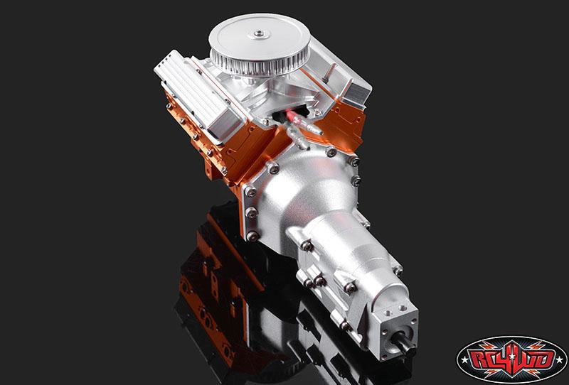 RC4WD TCI Heavy Duty R4 Single Speed Scale Transmission (2)