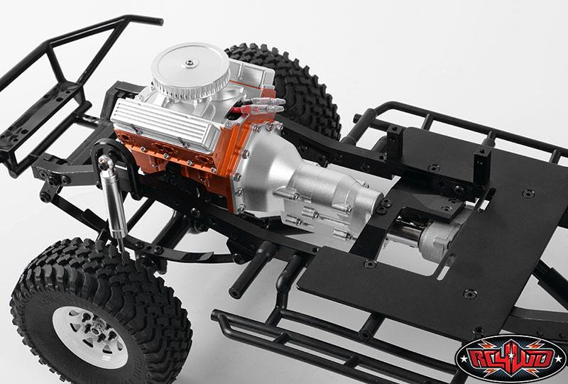 RC4WD TCI Heavy Duty R4 Single Speed Scale Transmission (3)