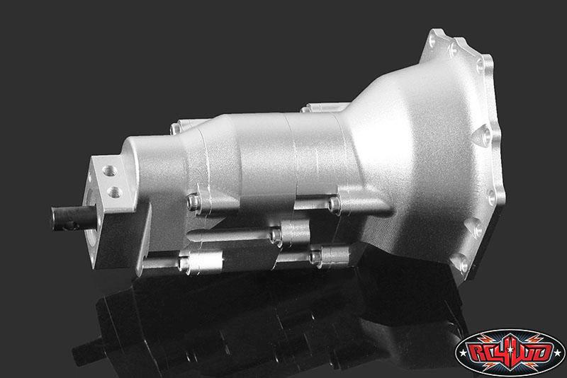 RC4WD TCI Heavy Duty R4 Single Speed Scale Transmission (4)