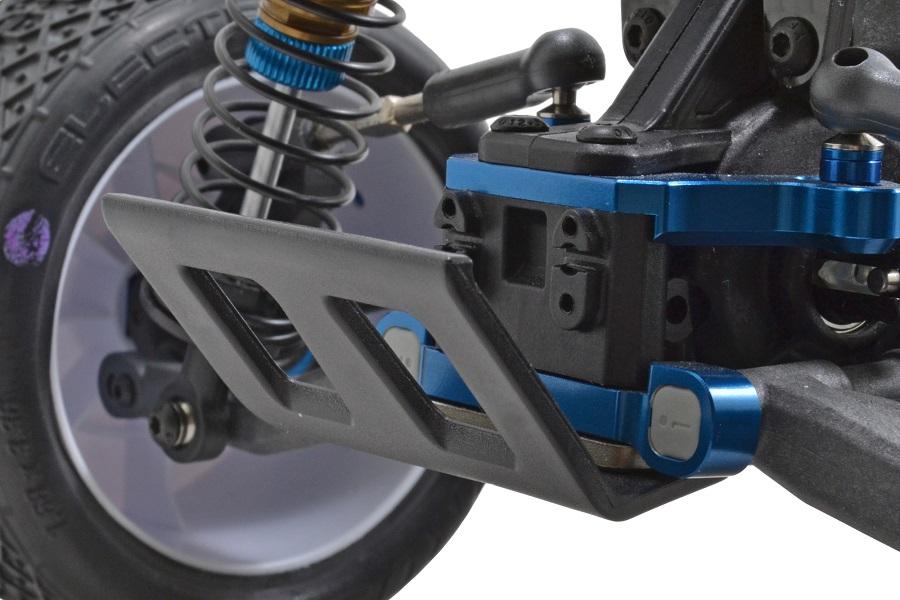RPM Rear Bumper & Skid Plate For The Associated B6 & B6D (2)