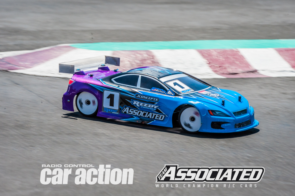 Team Associated's Spencer Rivkin is already turning heads in his first ever Reedy TC race of Champions and after his first 2 rounds in the Open Modified Class was leading in points on his quest for TQ.