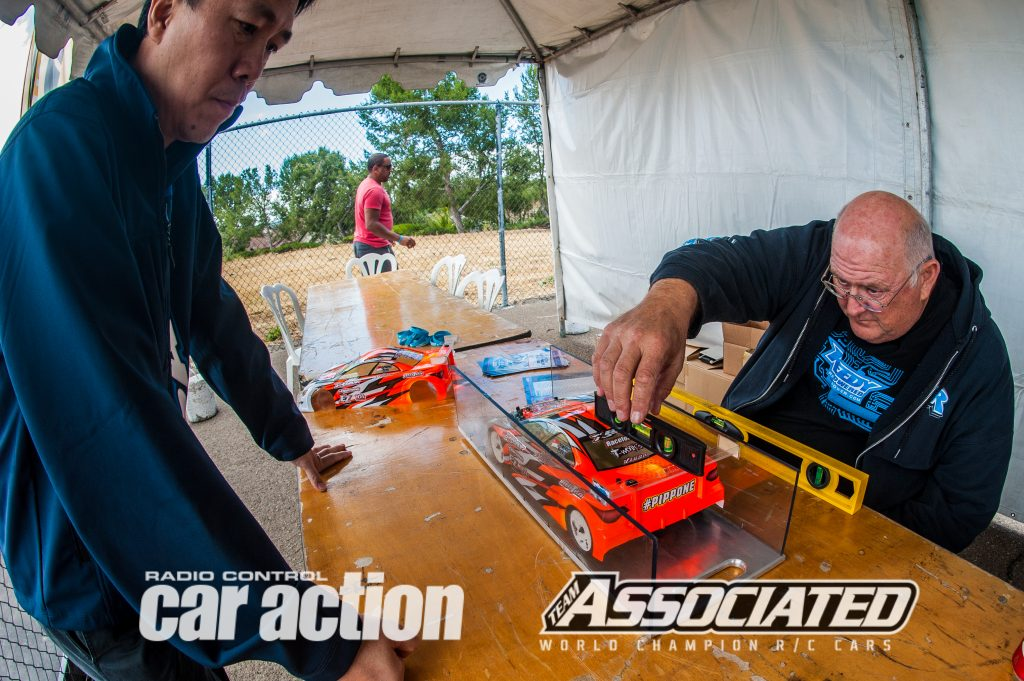 The technical inspection area at the Reedy Race is thorough and fair. The cars are going faster than ever, and keeping the racing close is the objective.