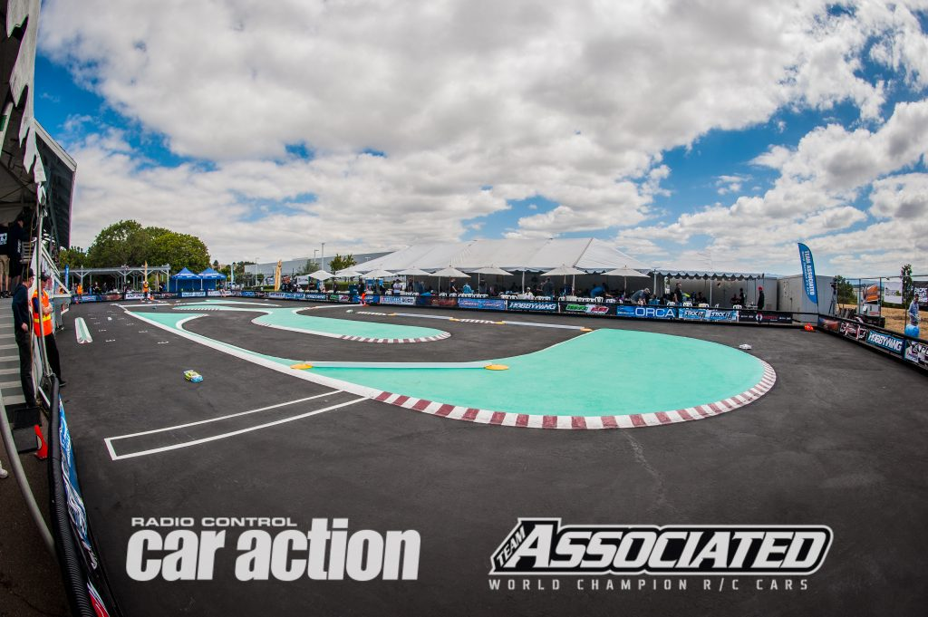 The 2017 Reedy Touring Car Race of Champions is under way at the famous Tamiya Raceway in Aliso, California.