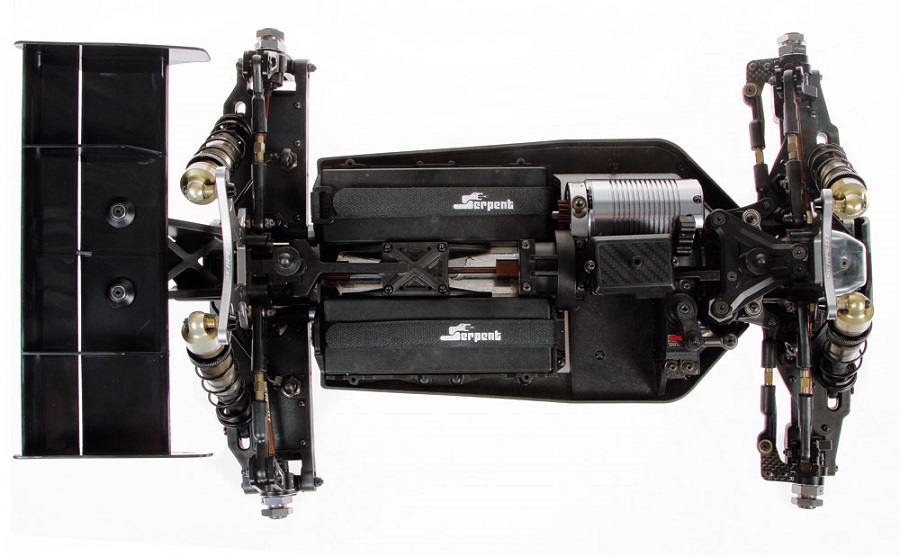 Serpent Cobra SRX8E Saddle Pack Upgrade Kit (2)