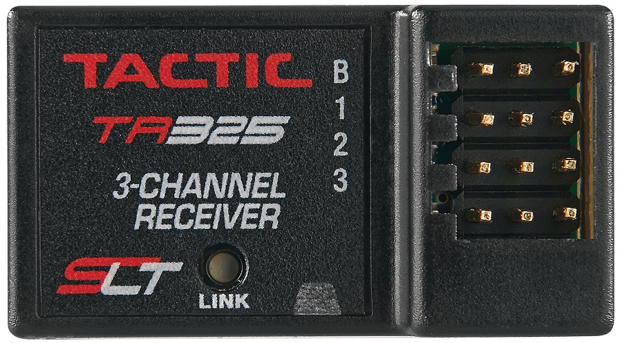 Tactic TTX200 2-Channel 2.4GHz SLT Radio & TR325 Rx (2)