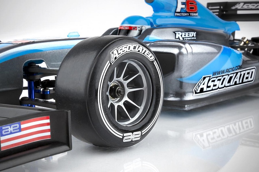 Team Associated RC10F6 Tire Decals (1)